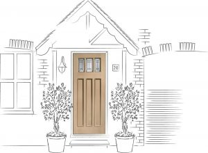 Front Door Drawing In Choosing New Front Door Can Seem Like Simple Task Until You See The Offering Of Styles Types Colours And Sizes Thereu0027s So Much Choice Nowadays That Door Superstore