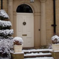 6 ways to weatherproof your front door this winter