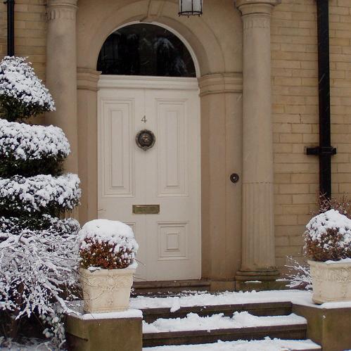 6 ways to weatherproof your front door this winter