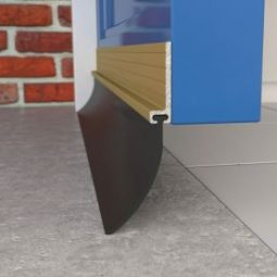 How to fit a draught excluder around a door