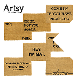 20% off all Artsy doormats