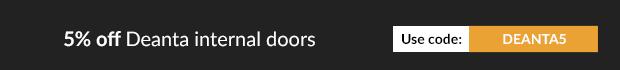 Feb Deals - 5% off Deanta internal doors