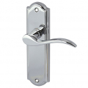 Lever on Backplate Door Handles