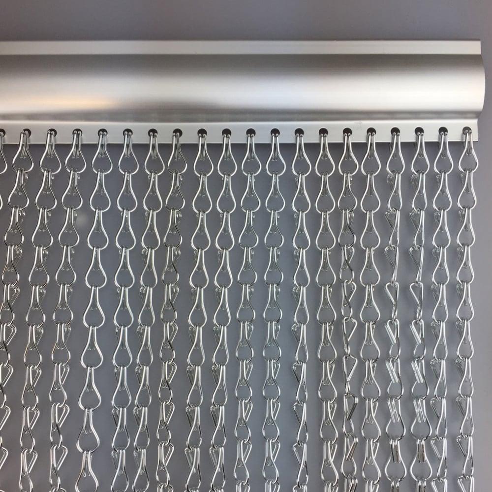 aluminium door fly screen chain link curtain door. Black Bedroom Furniture Sets. Home Design Ideas