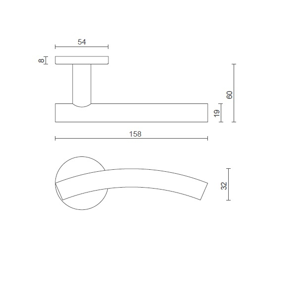 consort-lever-handle-8mm-sprung-dimeensions-CH399