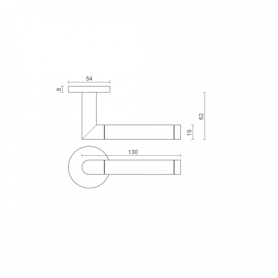 consort-emgraved-mitred-lever-handle-8mm-sprung-dimensions