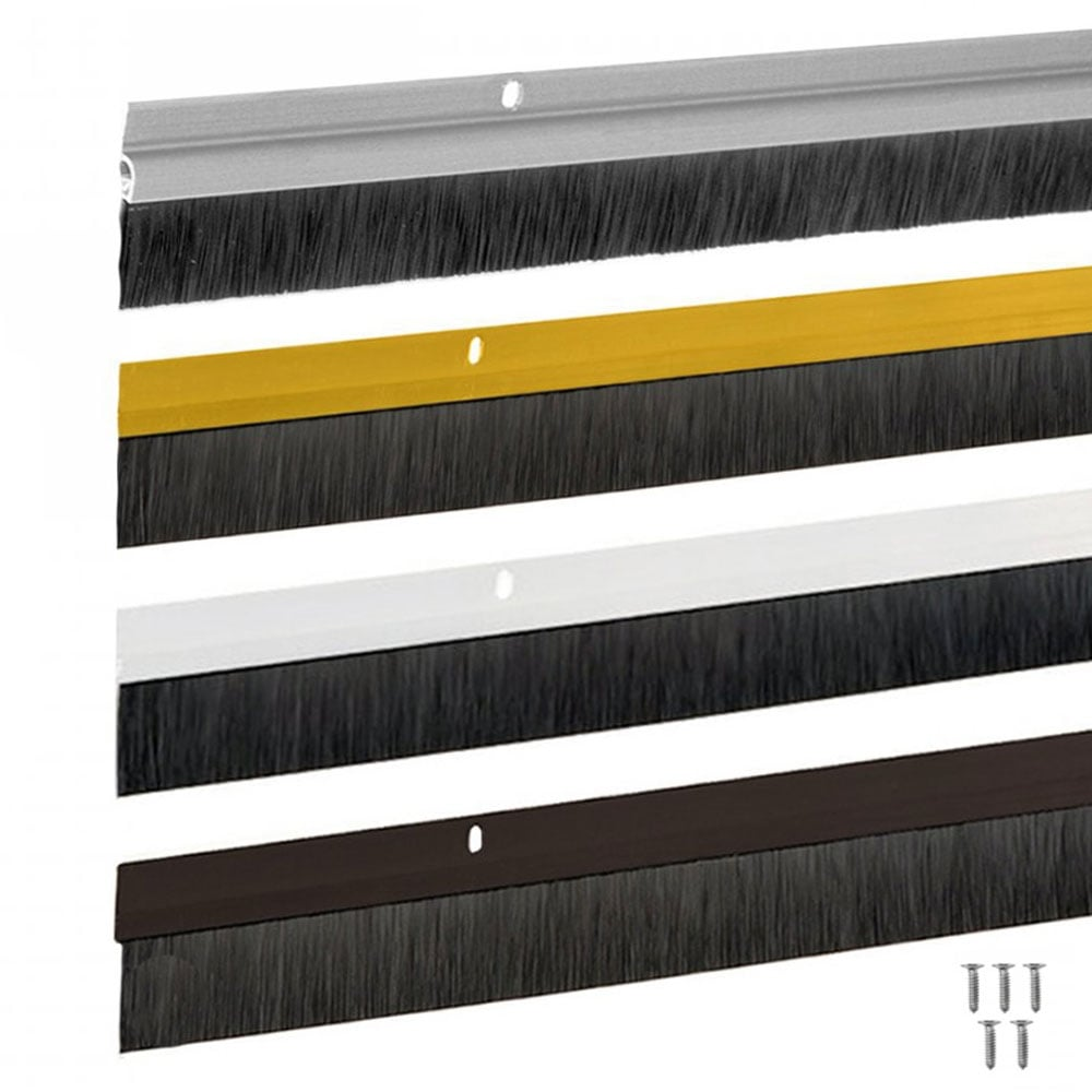 Bottom of Door Draught Excluder Brush Strip 914mm