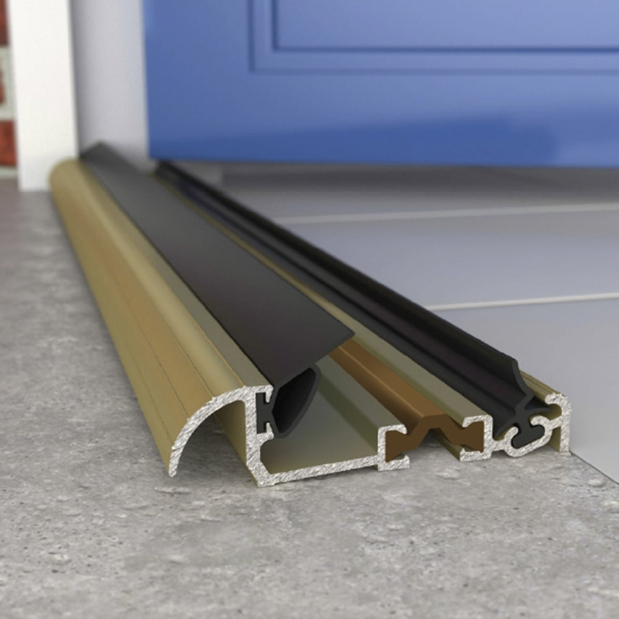 Macclex 15/2 Metal Draught Excluder Door Cill Threshold