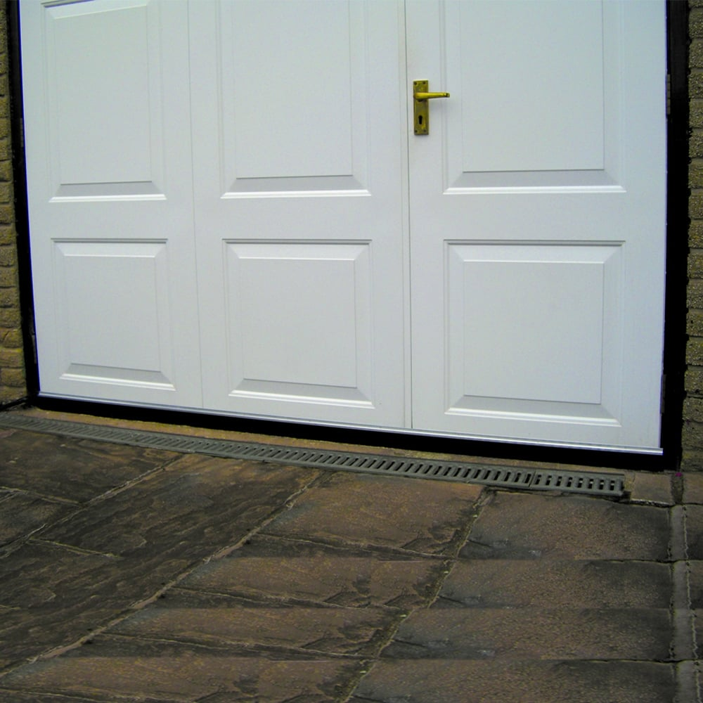 garage door draught excluder brush seal 2500mm 2 x. Black Bedroom Furniture Sets. Home Design Ideas