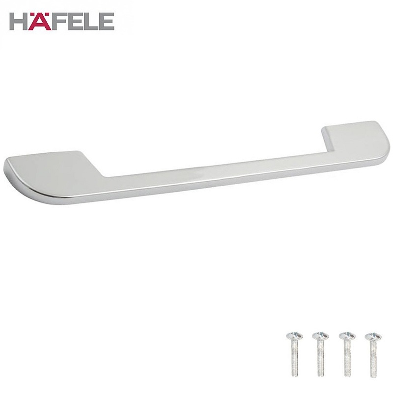 BRONTE Curved Chrome Cabinet Door Pull Handle