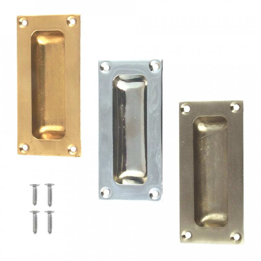 Sliding Door Pull Handle Flush Rectangle Inset Slide Door Superstore