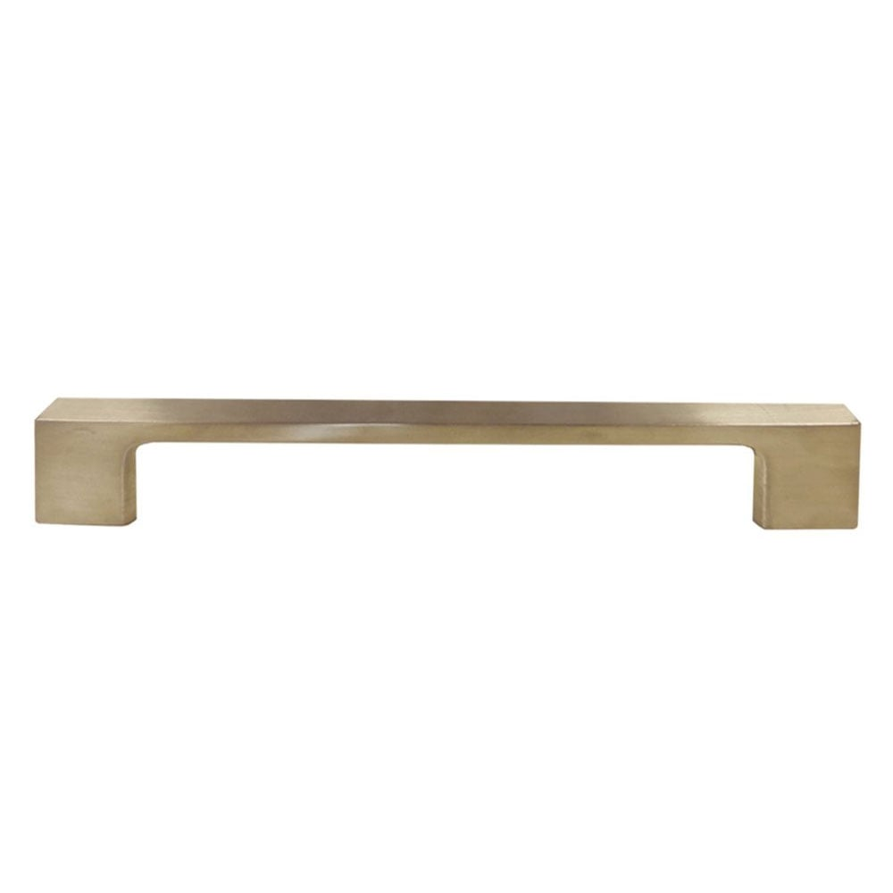 H?§fele LABURNUM Door Pull Bar Handle Brushed Nickel 192mm (225mm Overall)