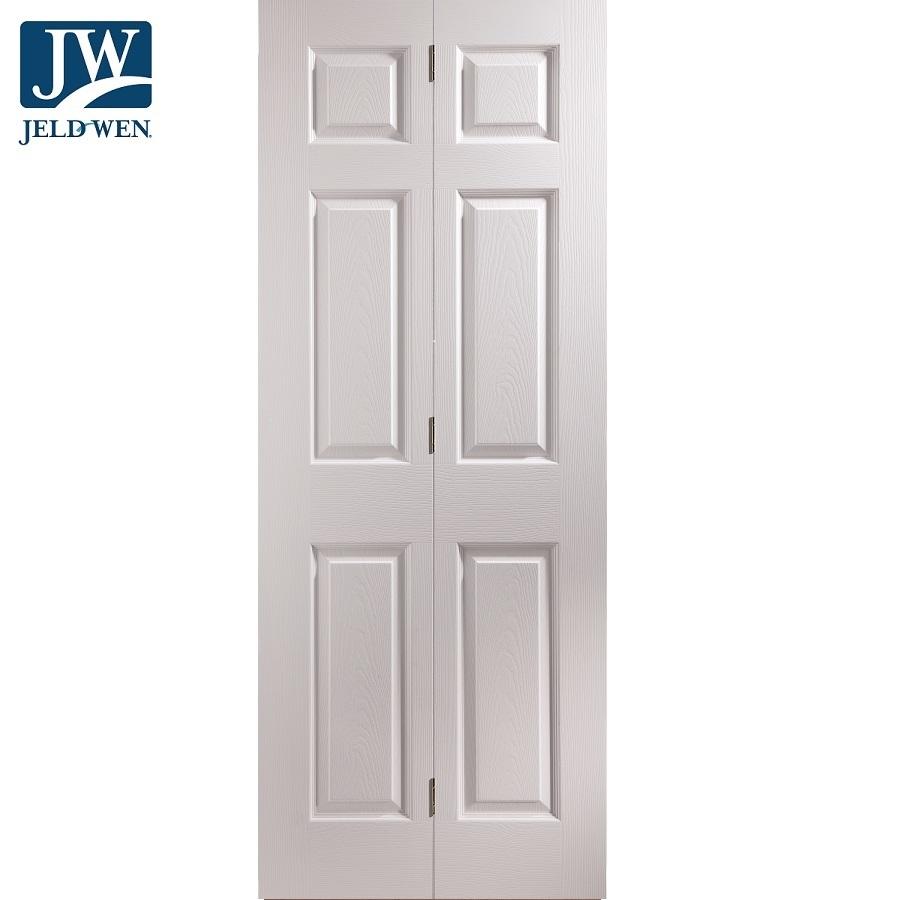 Jeld Wen Bostonian 6 Panel Bi Fold Interior Door Door Superstore