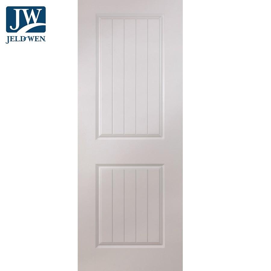 Jeld Wen Newbridge White Primed 2 Panel Interior Door Door Superstore
