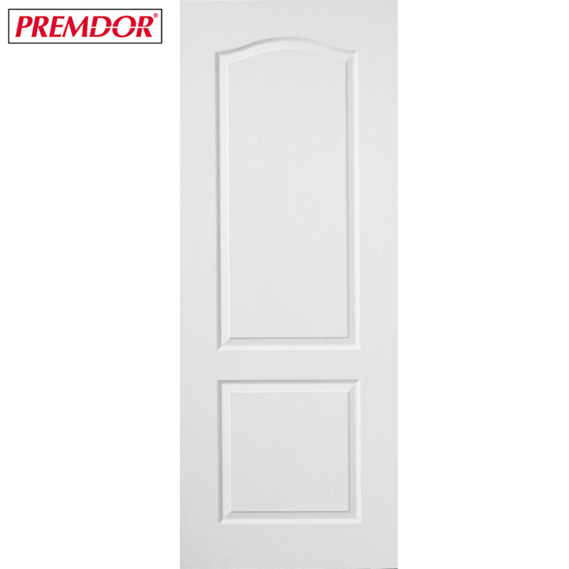 Internal White Primed 2 PANEL CLASSIQUE Moulded Textured Door