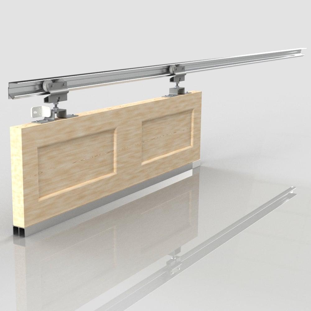 Slik Sliding Door Gear Track Kit With Double Wheel 914mm Door
