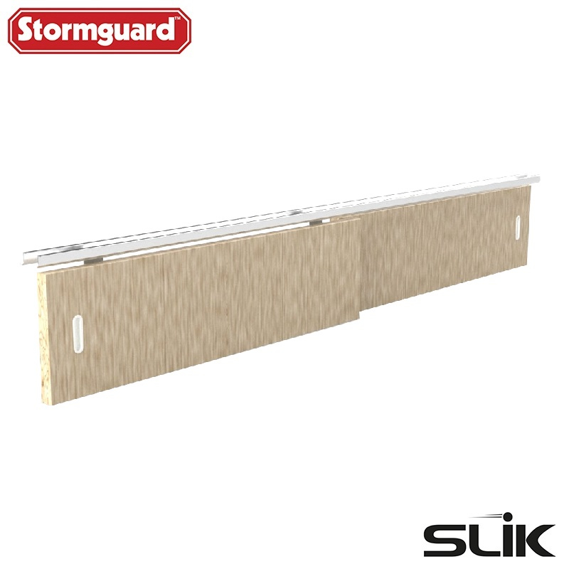 Slik Sliding Wardrobe Door Gear No2 Heavy Duty Track Kit