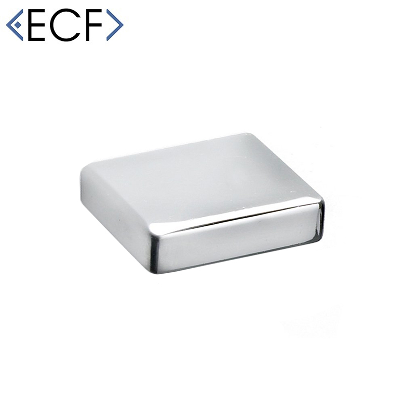 SLIM EVA Cupboard Door Drawer Pull Knob in Chrome