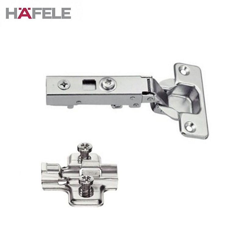 Soft Close Cabinet Hinge with Cruciform Plate