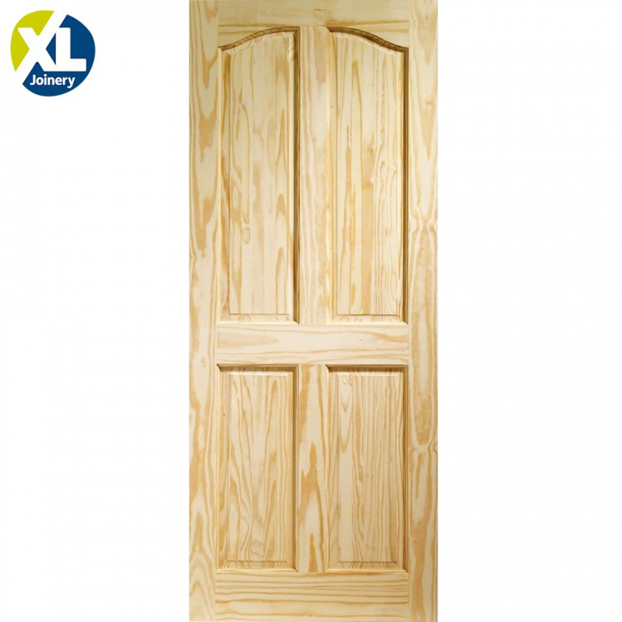 Internal Clear Pine Rio 4 Panel Door