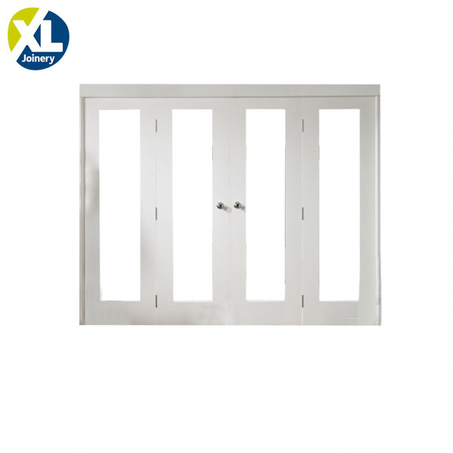 XL Joinery Internal White Primed Freefold Room Divider System