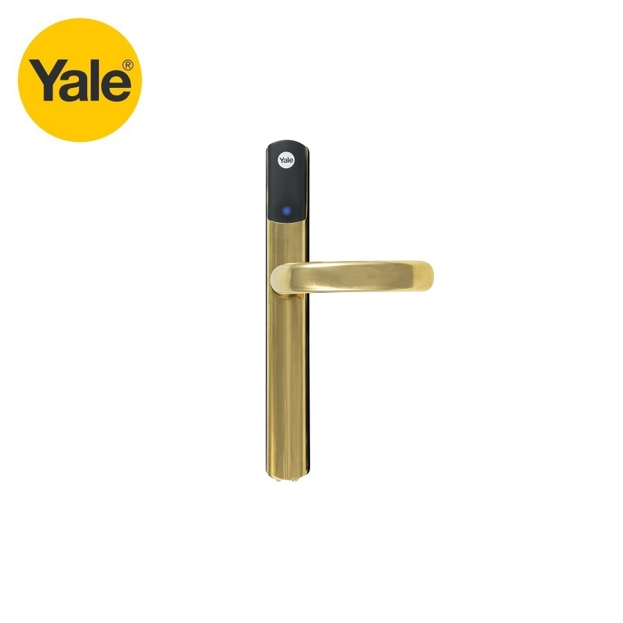 Video of Yale Conexis L1 Smart Door Lock Polished Brass
