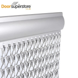 Aluminium Door Fly Screen Chain Link Curtain
