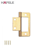 Brass Flush Inset Cabinet Door Hinge