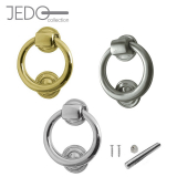 Jedo Contemporary Ring Front Door Knocker 105mm