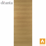 Deanta Internal Oak Augusta Flush Fire Door
