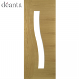 Deanta Internal Oak Cadiz Glazed Door