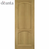 Deanta Internal Oak Louis Panelled Door