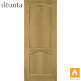 Deanta Internal Oak Louis Panelled Fire Door