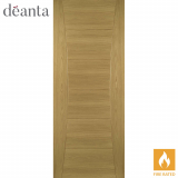 Deanta Internal Oak Pamplona Flush Fire Door