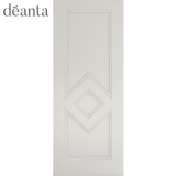 Deanta Internal White Primed Ascot Panelled Door