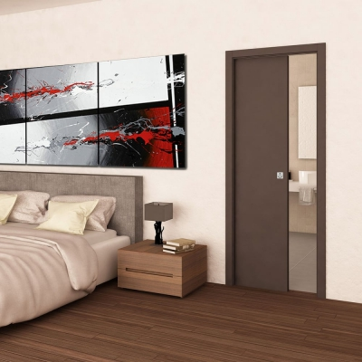 Single Pocket Door Cavity Sliding System FW100 (doors sold separately)