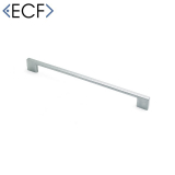 SLIM SQUARE D Chrome Cupboard Door Pull Handle