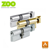 Euro Cylinder Lock with Thumb Turn Fire Rated 35/35T 70mm