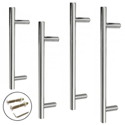 Excel GUARDSMAN Grade 304 Stainless Steel Door Pull Handle 19mm (Bolt Through)