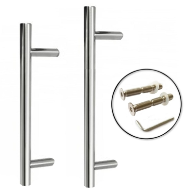 Excel GUARDSMAN Grade 304 Stainless Steel Door Pull Handle 32mm (Bolt Through)