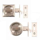 Excel Stainless Steel Sliding Door Lock Pocket Latch Hook