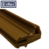 Exitex Pack of 50 Threshold Water Sealing Weather Bar Flipper 914mm
