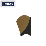 Exitex Pack of 10 Weather Radius 20 Rain Deflector with Concealed Fixings
