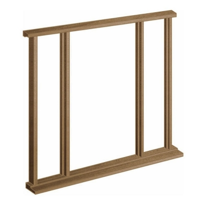 LPD External Hardwood Vestibule Universal Door Frame and Sidelight Kit