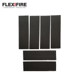 Flexifire Intumescent Hinge Pads 100mm x 31mm x 0.8mm