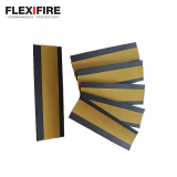 Flexifire Intumescent Self Adhesive Hinge Pads 100mm x 31mm x 0.8mm
