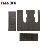 Flexifire Tubular Latch Kit 75mm x 24mm
