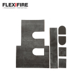 Flexifire Universal BS Deadlock Kit 75mm x 75mm