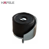 Floor Mounted Rubber and Aluminum Door Stop