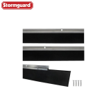 Garage Door Draught Excluder Seal (3 x 838mm Carriers + 2500mm Seal)